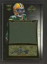 2014 Panini Limited Gold Davante Adams Packers RC Rookie Jersey AUTO /25