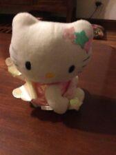 "Sanrio Partner  Hello Kitty Plush White  Angel Wings 6"" Box 6"