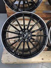 17 Zoll UA4 Felgen für Mercedes A C CL CLA Klasse W176 A250 W212 GLK AMG schwarz