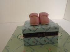 1999 Madame Alexander Collectibles Pink Shoes Porcelain Box