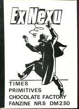 Ex Nexu  Nr. 5  (rare deutsches Garage & Indi Fanzine, Köln 1986)