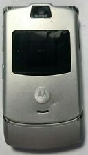 READ FIRST Motorola RAZR V3 Black AT&T Cell Phone Fast Fair Used