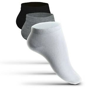 20 PAAR Sneaker Socken Herren Damen Sport Freizeit Kurzsocken Füßlinge Sneakers