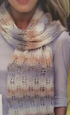Cg23 - Knitting Pattern - DK Lady's Textured Scarf