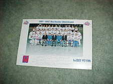 1991 Rochester Americans AHL Team Hockey Photo