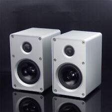 1 pair HIFI Bookshelf Speaker HIFI Passive Speaker For Amplifier Audio 2018 New