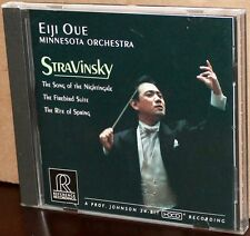 REFERENCE RECORDINGS RR-70CD: Stravinsky: Firebird Nightingale Rite Spring - OUE