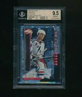 1997-98 Score Rangers Platinum #1 Wayne Gretzky BGS 9.5