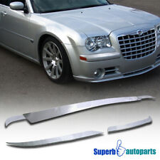 For 2005-2010 Chrysler 300 Front+Rear Bumper Deck Trim Cover