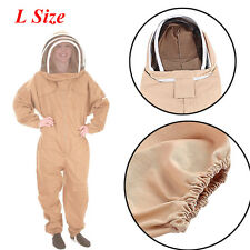 Beekeeping Jacket Suit Hat Pull Over Smock Veil Bee Keeping Protective Equipment