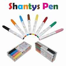 Shantys Pen, Farbstife 8er Set Lebensmittelfarbe, Dekoration - Shantys