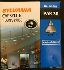 QTY 10 Sylvania Capsylite Par 30 Halogen Light Bulb 75 Watts In/out FREE SHIP