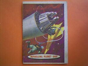 A&BC Gum 1958 Space Trade Card No 70 - REFUELING  INTERPLANET  SHIP