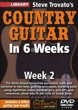 LICK LIBRARY Steve Trovato's COUNTRY GUITAR In 6 WEEKS Learn Dickie Betts DVD 2