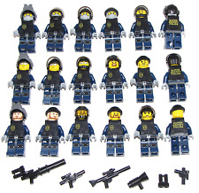 Lego SWAT Team Minifigures Men Figures Army Police Squad Military Figs YOU PICK!