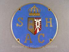 111639, Kühler Plakette des Schleswig Holsteiner Automobil Club SHAC, C.POELLATH