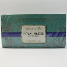 Fortnum and Mason UK Royal Blend Fortnum's Famous Tea 25 Tea Bags