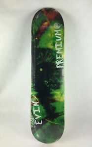 "Premium skateboards deck 7.5 x 31"" quality Gripped Josh Evin - eye - C1"