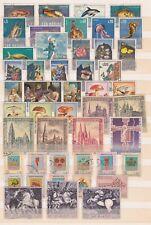 San Marino 1966 - 1973, Collezione di francobolli del periodo Nuovi e Annullati.
