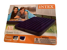 "New ListingIntex Queen-Classic Downy Inflatable Air Mattress 60""×80""×8.75""*New*Seale d"