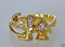 Cubic Zirconia Yellow Gold Sapphire Fine Jewellery