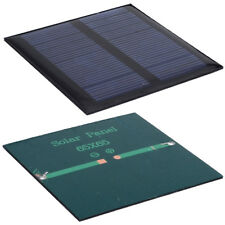 10pcs Solar Panels 5.5v 90mA 0.6W 6.5x6.5 for Mini Solar Cell Power Appliances