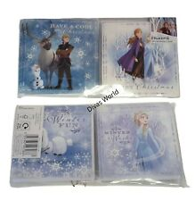 Disney Frozen 2 Christmas Cards 20 Pack 4 Assorted Designs Greeting Card