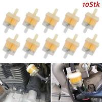 10x Benzinfilter Sprit Kraftstofffilter 6-7mm Auto PKW Motorrad Für Roller Quad