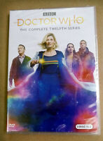 Doctor Who Season 12 (DVD, 2020, 3-Disc Set) Brand New Fast shipping