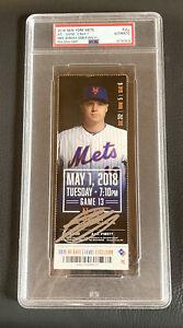 Mike Soroka Signed Mlb Debut Ticket Stub 5/1/18 Mets Braves Auto + PSA DNA COA