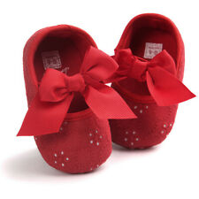 e3b4057bb3c5 Baby Girls Newborn Glitter Bowknot Fashion Toddler Crib Pram Shoes+1PC  Hairband