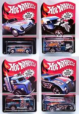 2016 Hot Wheels Mail In Promo Set of 4 Blown Delivery Drag Dairy Corvette 38 COE