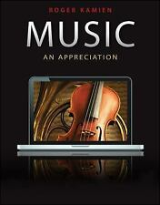 Music : An Appreciation by Roger Kamien (2010, Hardcover)