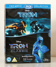 Tron / Tron Legacy [Blu-ray] 2-Movie Set in slipcase box / NEW and Sealed