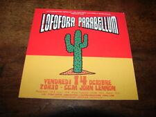 LOFOFORA - PARABELLUM - RARE AUTOCOLLANT !!!!!!!!!!!