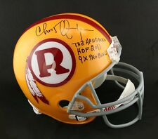 Chris Hanburger SIGNED Washington Redskins F/S Helmet + HOF PSA/DNA AUTOGRAPHED