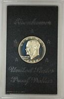 1974-S Proof 40% Silver Eisenhower IKE Dollar Coin with Original US Mint Box