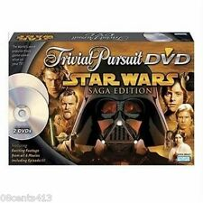 Trivial Pursuit DVD Star Wars Saga Edition (Board Game) 2-4 Players / Ages 10+