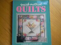 """""""QUICK-METHOD QUILTS"""" by Leisure Arts, 15 QUILTING PROJECTS w/ instructions"""