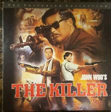 LASERDISC The Killer CRITERION #211 Cantonese John Woo Chow Yun Fat 1989