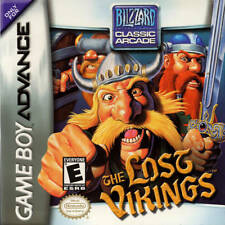The Lost Vikings GBA New Game Boy Advance