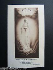 IMAGE d' AVIS MORTUAIRE : Stéphanie LAMURE, Veuve MERLE, Lourdes, 1930 .