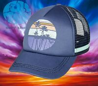 New Roxy Dig This Womens Sun Trucker Snapback Cap Hat