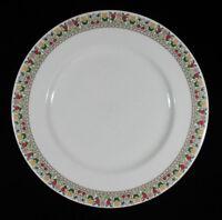 "Royal Doulton Fireglow Pattern Dinner Plate Floral Edge 10 5/8"""