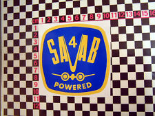 Period Sticker for Saab 95 96 V4