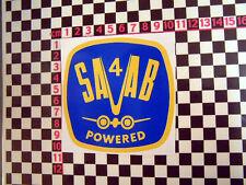 Period Sticker for Saab 95 96 V4