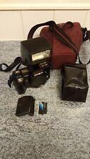 Minolta 7000 Film Camera Body And Flash Spares Or Repairs