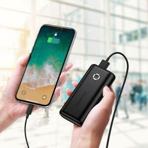 EnergyCell 10000mah USB Powerbank kompakt Externer Akku klein und leich