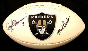 Daryle Lamonica Autographed Raiders Football With Mad Bomber Inscription