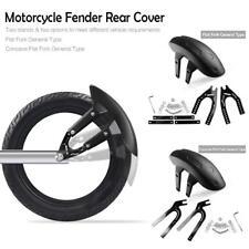 Motorcycle Chopper Rear Tire Wheel Cover Fender Mudguard Splash Guard w/ Bracket